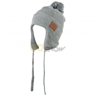 NITRO STANDARD ISSUE EAR FLAP HEATHER GREY