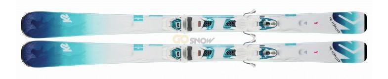 K2 Anthem 76X + wiązania Marker ERC 3 2020