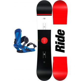 Zestaw snowboardowy Ride Agenda/ Ride KX Blue 2017
