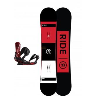 Zestaw snowboardowy Ride Agenda/ Ride EX Crimson 2018