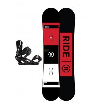 Zestaw snowboardowy Ride Agenda/ Ride KX Black 2018