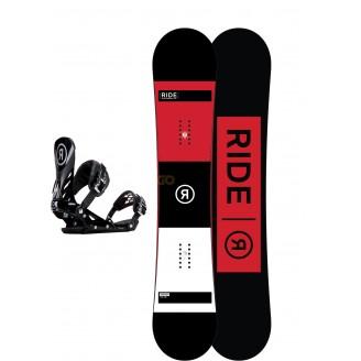 Zestaw snowboardowy Ride Agenda/ Ride EX Black 2018