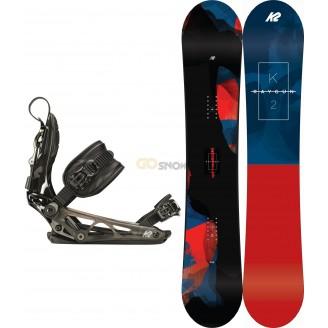 Zestaw snowboardowy K2 Raygun/ Cinch TC 2019