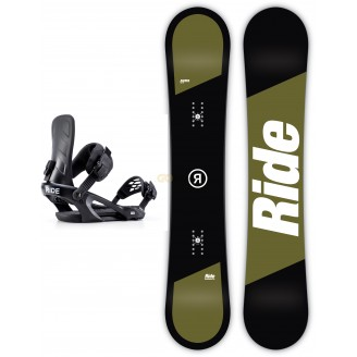 Zestaw snowboardowy Ride Agenda/ Ride KX Black 2019