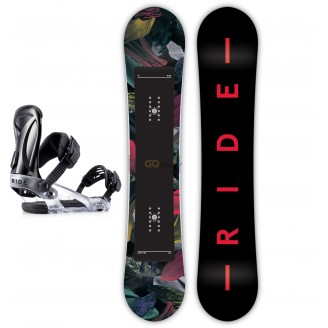 Zestaw snowboardowy Ride Rapture/ Ride KS Black 2019
