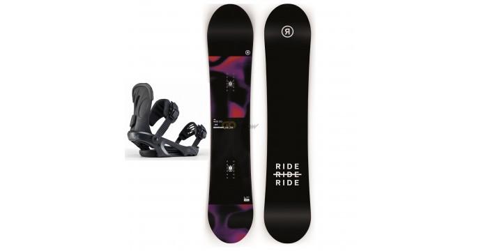 Zestaw snowboardowy Ride Copact/ Ride LHX Black 2020