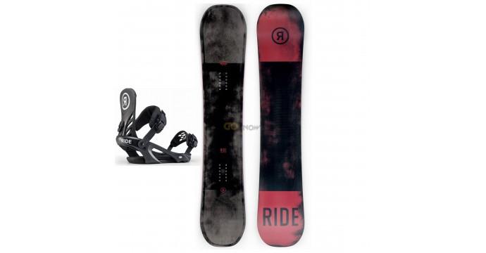 Zestaw snowboardowy Ride Agenda/ Ride LX Black 2020